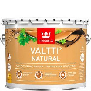 """Фото 12 - Лазурь """"Валтти Натурал""""(Valtti Natural) ультрастойкая п/глянцевая для древесины""""Тиккурила/Tikkurila""""."""