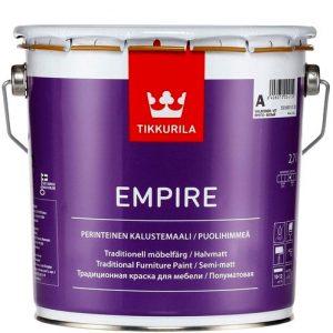 """Фото 2 - Краска """"Эмпире"""" (Empire kalustemaali) алкидная полуматовая для мебели """"Тиккурила/Tikkurila""""."""