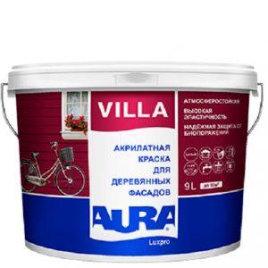 """Фото 5 - Краска """"Вилла"""" (Villa) фасадная полуматовая для дерева """"Аура ЛюксПро/Aura LuxPRO""""."""