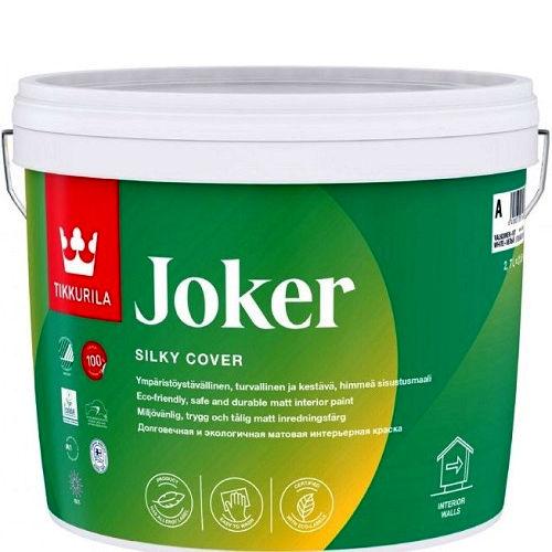 """Фото 1 - Краска """"Джокер"""" (Joker) акрилатная матовая интерьерная """"Тиккурила/Tikkurila""""."""