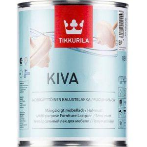 """Фото 1 - Лак """"Кива"""" (Kiva) акрилатный для деревянных поверхностей """"Тиккурила/Tikkurila""""."""