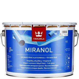"""Фото 1 - Эмаль """"Миранол"""" (Miranol) алкидная высокоглянцевая тиксотропная универсальная """"Тиккурила/Tikkurila""""."""
