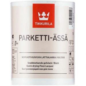 "Фото 6 - Лак ""Паркетти Ясся"" (Parketti Assa) паркетный полиуретано-акрилатный ""Тиккурила/Tikkurila""."