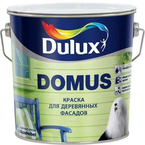 """Фото 1 - Краска """"Dulux"""" Домус (Domus) масляно-алкидная полуглянцевая для деревянных фасадов """"AkzoNobel""""."""