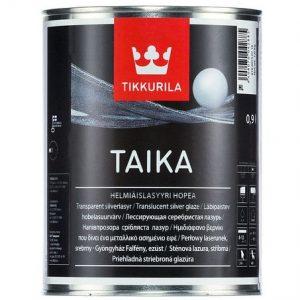 """Фото 3 - Лазурь """"Тайка"""" (Taika) одноцветная перламутровая полуглянцевая """"Тиккурила/Tikkurila""""."""