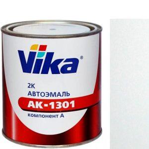 """Фото 1 - Автоэмаль """"АК-1301  040 Белая"""" акриловая двухкомпонентная полуглянцевая """"Вика/Vika""""."""
