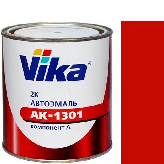 """Фото 2 - Автоэмаль """"АК-1301  1015 Красная"""" акриловая двухкомпонентная полуглянцевая """"Вика/Vika""""."""