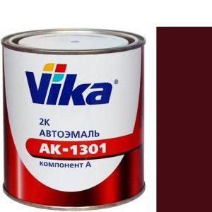 """Фото 12 - Автоэмаль """"АК-1301  180 Гранатовая"""" акриловая двухкомпонентная полуглянцевая """"Вика/Vika""""."""