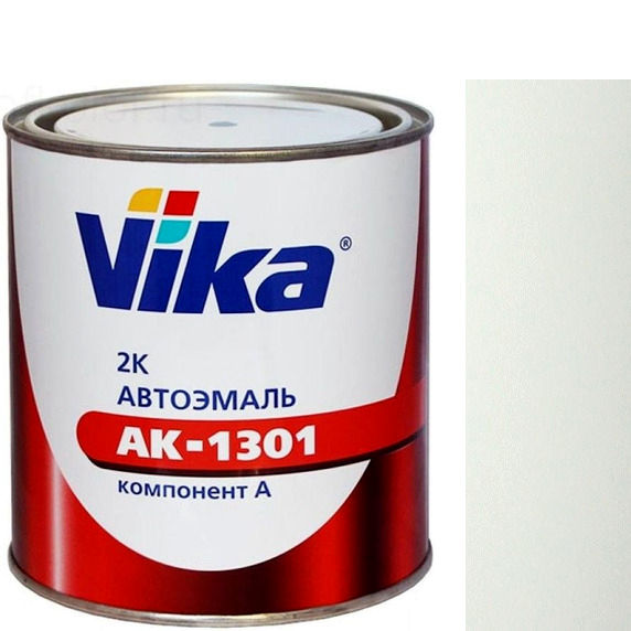 """Фото 13 - Автоэмаль """"АК-1301  201 Белая"""" акриловая двухкомпонентная полуглянцевая """"Вика/Vika""""."""