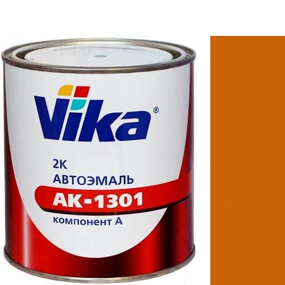 """Фото 16 - Автоэмаль """"АК-1301  208 Охра Золотистая"""" акриловая двухкомпонентная полуглянцевая """"Вика/Vika""""."""