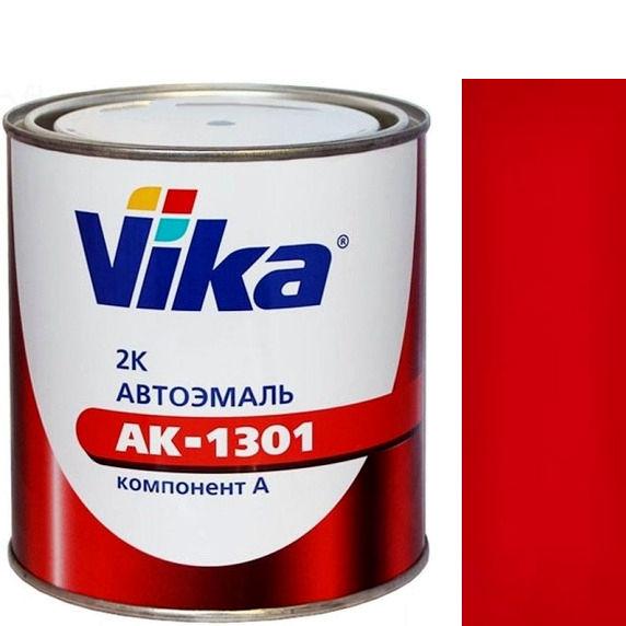 """Фото 24 - Автоэмаль """"АК-1301  309 Гренадёр"""" акриловая двухкомпонентная полуглянцевая """"Вика/Vika""""."""
