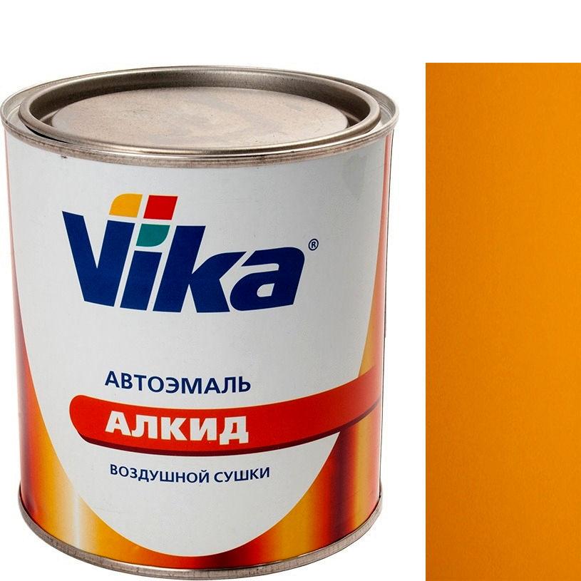 """Фото 3 - Автоэмаль """"Vika-60 1035 Желтая"""" алкидная глянцевая естественной сушки """"Вика/Vika""""."""