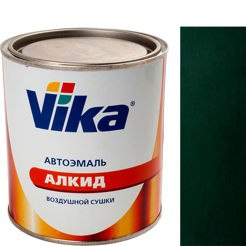 """Фото 17 - Автоэмаль """"Vika-60 307 Зелёный Сад"""" алкидная глянцевая естественной сушки """"Вика/Vika""""."""