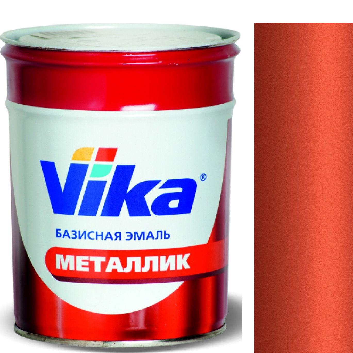 """Фото 15 - Автоэмаль """"Металлик"""" 152 Паприка, профессиональная базовая,  """"Вика/Vika""""."""