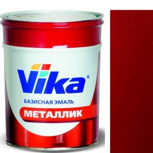 """Фото 16 - Автоэмаль """"Металлик"""" 190 Калифорнийский мак, профессиональная базовая,  """"Вика/Vika""""."""