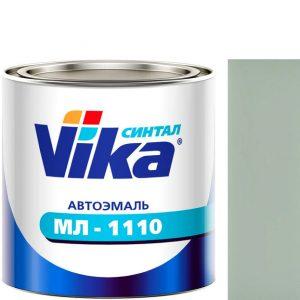 """Фото 1 - Автоэмаль """"МЛ-1110"""" 02 Светло-Серая, синтетическая полуглянцевая,  """"Вика/Vika""""."""