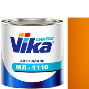 """Фото 4 - Автоэмаль """"МЛ-1110"""" 1035 Жёлтая, синтетическая полуглянцевая,  """"Вика/Vika""""."""