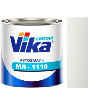 """Фото 10 - Автоэмаль """"МЛ-1110"""" 201 Белая , синтетическая полуглянцевая """"Вика/Vika""""."""