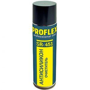 """Фото 3 - Очиститель """"Антисиликон Proflex"""" в аэрозольной упаковке """"Химик""""."""