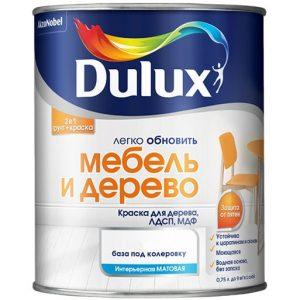 """Фото 1 - Грунт-Краска """"Dulux"""" Мебель и Дерево, акриловая матовая для мебели """"AkzoNobel""""."""