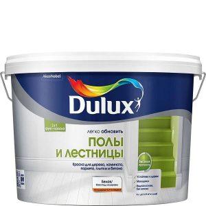 """Фото 1 - Грунт-Краска """"Dulux"""" Полы и Лестницы, акриловая полуглянцевая для пола """"AkzoNobel""""."""