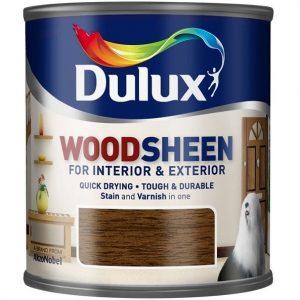 """Фото 9 - Лак-морилка """"Dulux"""" Woodsheen, полуматовый на водной основе для деревянных поверхностей """"AkzoNobel""""."""