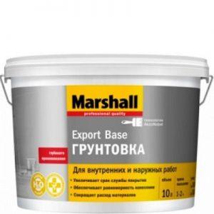 """Фото 4 - Грунтовка """"Marshall"""" Экспорт База (Export Base) универсальная глубокого проникновения """"Маршал""""."""