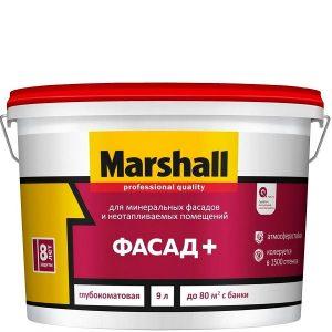 "Фото 11 - Краска ""Marshall"" Фасад+, глубокоматовая для наружных и внутренних работ ""Маршал""."