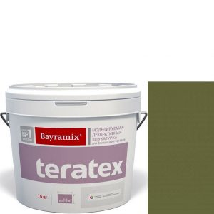 """Фото 16 - Покрытие """"Тератекс 079"""" (Teratex) текстурное моделируемое с эффектом """"крупная шуба"""" """"Bayramix""""."""