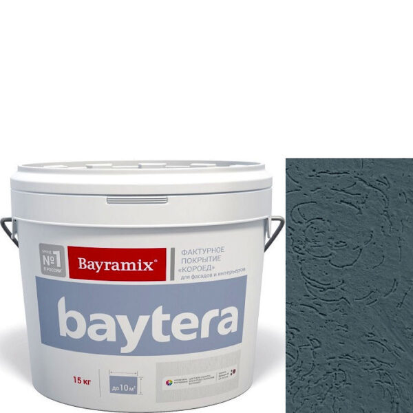 """Фото 1 - Покрытие """"Байтера Короед 095"""" (Baytera) фактурное для внутр/наружных  работ """"Байрамикс/Bayramix""""."""