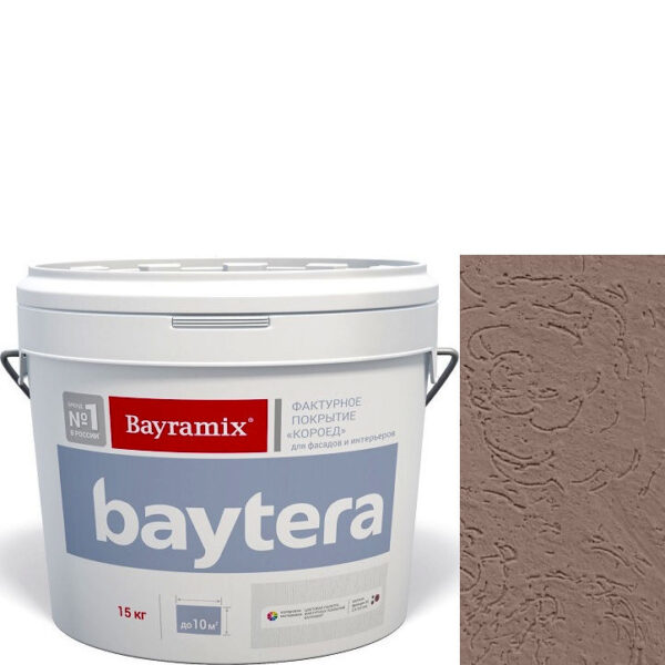 """Фото 1 - Покрытие """"Байтера Мокрая стена 078"""" (Baytera) фактурное для внутр/наруж работ """"Байтера/Bayramix""""."""