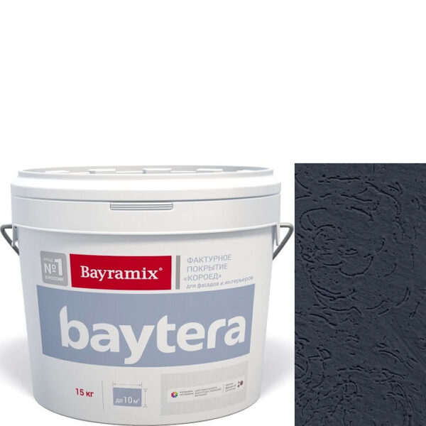 """Фото 1 - Покрытие """"Байтера Мокрая стена 097"""" (Baytera) фактурное для внутр/наруж работ """"Байтера/Bayramix""""."""