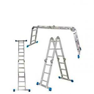 """Фото 9 - """"Лестница-Трансформер"""" Шарнирная, алюминиевая многоцелевая """"Новая Высота""""."""