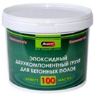 """Фото 2 - Грунт-Концентрат """"Аквест -100"""" эпоксидный двухкомпонентный для обработки бетонных полов """"Аквест""""."""
