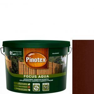 """Фото 5 - Пропитка """"Pinotex Focus Aqua"""" Палисандр, полуматовая для защиты древесины """"Пинотекс""""."""