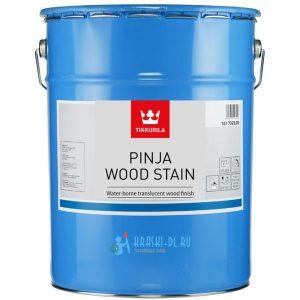 """Фото 13 - Масло """"Пинья Вууд Стейн"""" (Pinja Wood Stain) грунтовочное для древесины """"Tikkurila Industrial""""."""