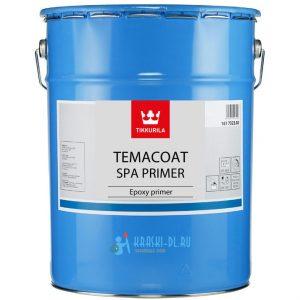 """Фото 4 - Грунт """"Темакоут СПА Праймер"""" (Temacoat SPA Primer ) эпоксидный полуматовый 2К """"Tikkurila Industrial""""."""