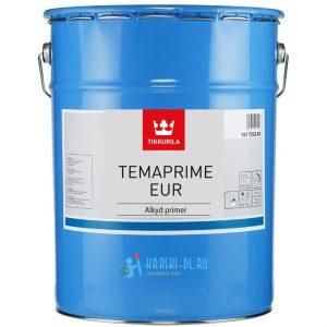 """Фото 5 - Грунт """"Темапрайм ЕУР"""" (Temaprime EUR) алкидный матовый быстровысыхающий """"Tikkurila Industrial""""."""