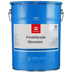 """Фото 3 - Грунтовка """"Фонтефасад Структура"""" (Fontefacade Structure) акрилатная """"Tikkurila Industrial""""."""