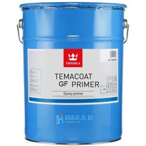 """Фото 3 - Грунт """"Темакоут ГФ Праймер"""" (Temacoat GF Primer) эпоксидный полуматовый 2К """"Tikkurila Industrial""""."""