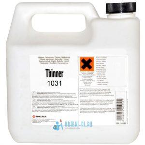 "Фото 18 - Растворитель ""Thinner"" 1031  ""Tikkurila Industrial""."