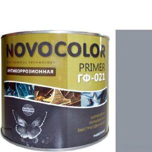 """Фото 8 - Грунт """"ГФ 021"""" Серый, антикоррозионный """"Новоколор/Novocolor""""."""