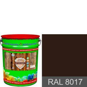 Фото 3 - Древощит - термопластичная трещиностойкая краска по дереву (RAL 8017) 10кг-20кг.