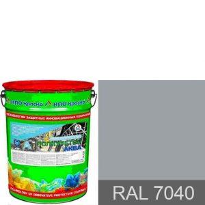 """Фото 3 - Грунт-Эмаль """"Полиуретол Аква"""" RAL 7040 Серое окно, на водно-полиуретановой основе """"КрасКо""""."""