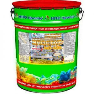 Фото 8 - Эпостат MD-400 - толстослойная  эпоксидная антикоррозионная грунт-эмаль «3 в 1» для чёрных металлов c защитой в 1 слой RAL 7040 Серое окно, 24 кг.