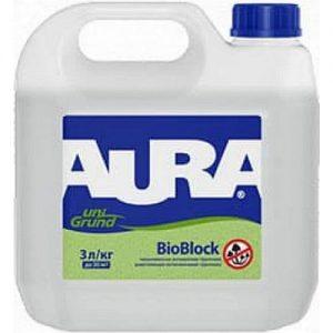 """Фото 4 - Грунт """"Аура Унигрунт БиоБлок"""" (Aura Unigrund Bioblock) специализированный биоцидный """"Аура/Aura""""."""