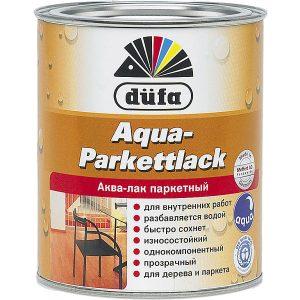 "Фото 3 - Лак ""Аква ПаркетЛак"" (Aqua-Parkettlack) на водной основе ""Дюфа/Düfa""."