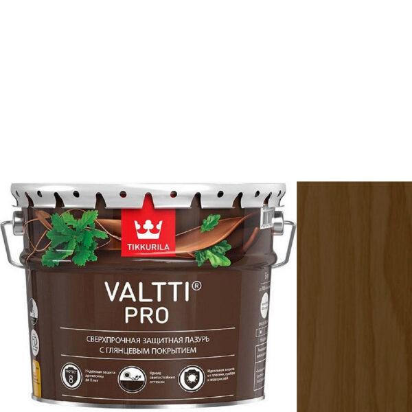 """Фото 1 - Лазурь """"Валтти Про"""" (Valtti Pro) Орех,  глянцевая для защиты древесины """"Tikkurila""""."""