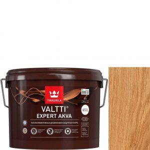 """Фото 1 - Лазурь """"Валтти Эксперт Аква"""" (Valtti expert akva) Бесцветный, полуматовая для древесины """"Tikkurila""""."""