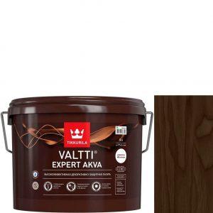 """Фото 4 - Лазурь """"Валтти Эксперт Аква"""" (Valtti expert akva) Палисандр, полуматовая для древесины """"Tikkurila""""."""